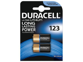 Duracell CR123A High Power Lithium 123 Batterien, 2er Pack