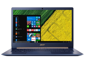 "Acer Swift 5 SF514-53T-577C NX.H7HEU.001 14"" notebook, kék + Windows 10 Home"