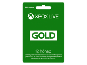 Card de 12 luni Microsoft Live Attache  (Xbox360)