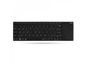 Tastatura wireless Rapoo E2710  touchpad, negru
