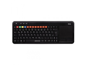 Tastatura wireless cu touchpad Hama Uzzano 3.0 mini pentru TV smart