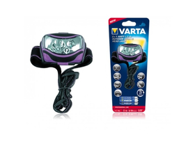 Varta 2x1W LED SPORTS HEAD LIGHT + 3AAA  elemlámpa