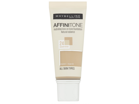 Fond de ten hidratant  Maybelline Affinitone 24 Golden Beige 
