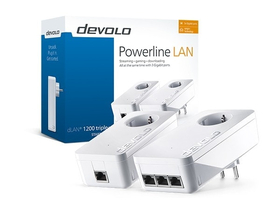 Devolo D 9913 dLAN 1200 triple+ Starter Kit Powerline adaptér