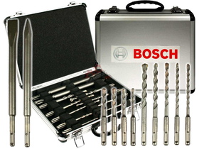 Bosch SDS-plus Premium set, aluminijski kofer (11 kom.)