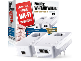 Devolo D 9396 dLAN 1200+ WiFi ac Starter Kit Powerline