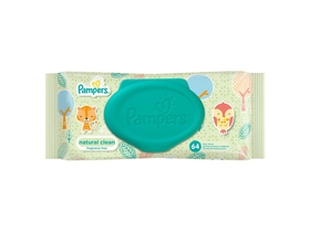 Pampers Naturally Clean vlažne maramice(64db)