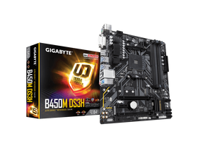 Gigabyte AMD GA-B450M-DS3H AM4 alaplap