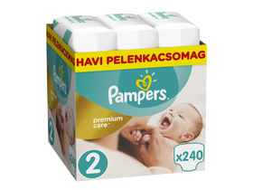 Scutece Pampers Premium Care  Monthly Box 2 mini, 240 buc.
