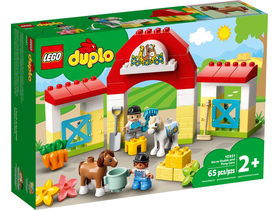 LEGO® DUPLO® Town 10951 Horse Stable and Pony Care