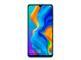 Huawei P30 Lite Dual SIM Smartphone ohne Vertrag, Peacock Blue (Android)