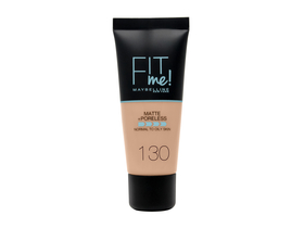Maybelline Fit Me! Matte & Poreless Alapozó, 130 Buff Beige, 30 ml