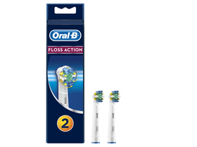 Oral-B EB 25-2 FlossAction Aufsteckbürsten, 2 Stk.