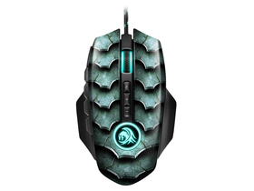 Sharkoon Drakonia II black Gaming Maus, schwarz