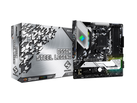 ASRock sAM4 B550M Steel Legend Mainboard