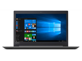 "Notebook Lenovo IdeaPad 320-17AST 80XW005QHV 17.3"", negru + Windows 10 Home, layout tastatura HU"