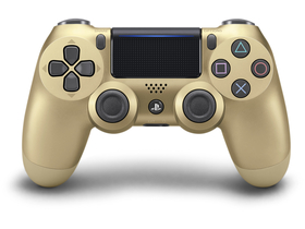 PlayStation 4 (PS4) Dualshock 4 V2 Wireless Controller, gold