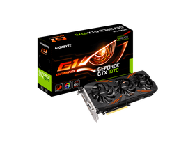 Placa video Gigabyte nVidia GTX 1070 8GB GDDR5  - GeForce GTX 1070 G1 Gaming