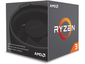 AMD Ryzen 3 1200 3.1GHz AM4 box processzor (YD1200BBAEBOX)