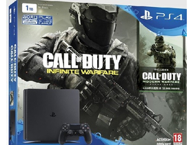 PlayStation® PS4 1TB Slim Call Of Duty : Infinite Warfare Legacy Edition softvér