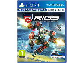 Playstation VR RIGS Mechanized Combat League PS4  herní software
