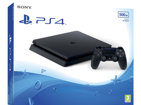 PS4 Slim 500GB, črn