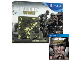 PS4 1TB Slim Limited Edition konzol + Call of Duty WWII