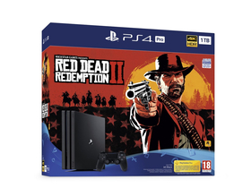 Consola PlayStation® PS4 Pro 1TB+ Red Dead Redemption 2