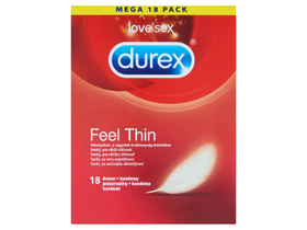 Durex Feel Thin óvszer, 18 db
