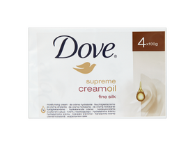 Dove Supreme Silk mydlo (4x100g)