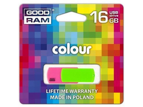 "Goodram ""Colour"" 16GB USB2.0 pendrive (PD16GH2GRCOMXR9)"