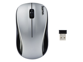 Hama 134941 AM-8100 wireless Maus, silber