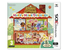 3DS Animal Crossing: Happy Home Designer 3DS játék