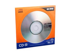 Disc Acme CD-R, 80min, 700MB, 52X