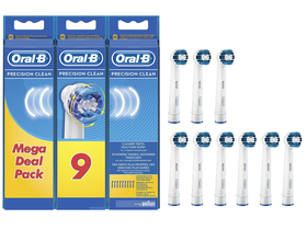 Oral-B EB 20-9 Precision Clean pótfej 9 db