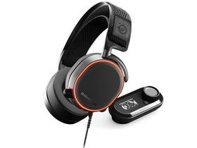 Steelseries Arctis Pro + GameDAC Gaming Headset + Adaper, schwarz