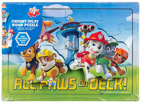 Spin Master Mancs PAW Patrol Puzzle aus Holz