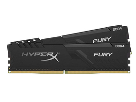 Kingston HX424C15FB3K2/16 HyperX Fury 16GB 2400MHz DDR4 Non-ECC CL15 XMP 2.0 memorija modul, crna