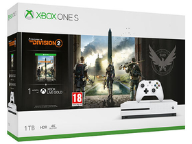 Microsoft igralna konzola Xbox One S 1 TB + igra Tom Clancy's The Division 2