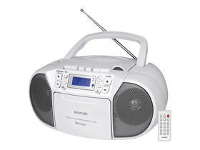 Sencor SPT 3907 W prijenosni Bluetooth CD radio MP3/SD/USB/AUX