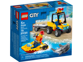 LEGO® City Great Vehicles 60286 -ATV за спасяване на плажа