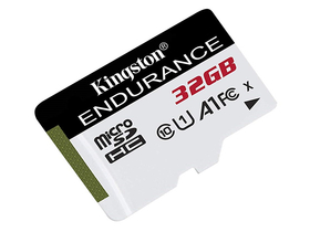 Kingston High Endurance 32GB microSDHC paměťová karta, Class 10, A1, UHS-I (SDCE/32GB)