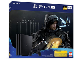 PlayStation® PS4 1TB Pro Spielkonsole mit Death Stranding Spielsoftware
