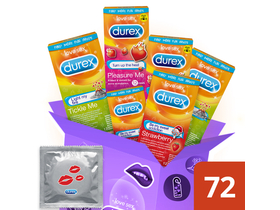 Durex Emoji Pack, 72 ks