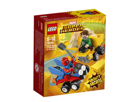 LEGO® Super Heroes Mighty Micros: Scarlet Spider Contra Sandman 76089