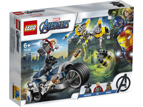 LEGO® Super Heroes - Avengers Speeder-Bike Attacke (76142)