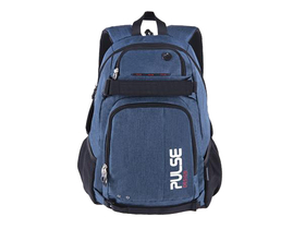 Pulse Scate 2in1 Rucksack mit Notebookhalter, dunkelblau