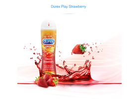 Durex Saucy Strawberry síkosító, 50 ml
