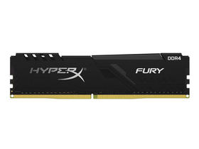 Kingston HX432C16FB3/8 HyperX Fury 8GB 3200MHz DDR4 Non-ECC CL16 XMP 2.0 memorija modul, crna