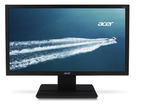 "ACER TN LED Monitor V206HQLAB 19,5"" 1600x900, 100M:1 200cd, 5ms,čierny"